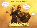 Bombsitters Juliet and Sayid by Cocoz42