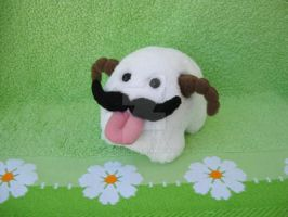 Poro with Moustache by ChoCoBa
