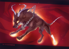 Hellhound by Static-ghost