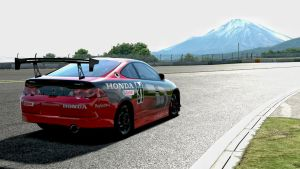Honda Racecar at the Fugi Speedway by whendt