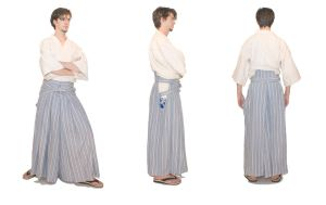 Traditional Hakama by Lastwear