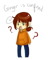 Confused Ginger by SuperHeroPattyFatty