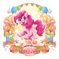 Pinkie Pie by tatugon