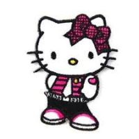 punk rock Hello Kitty by cutie193