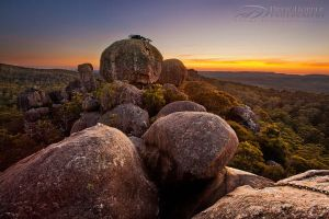 Cathedral Rock Dawn by DrewHopper