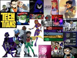 Teen Titans by dancelover101