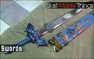 Just Manly Things: Swords by Ztrl