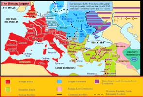 Roman Germania Map by GGY128