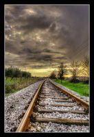 On the rails by JurajParis