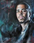 J. Cole by JackLabArt