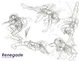 Renegade: Kick Sequence by tae-