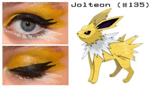 Pokemakeup 135 Jolteon by nazzara