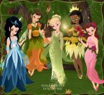 Pixie Hollow Deluxe by Arrelline