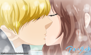 Ao Haru Ride 35: The First Kiss by NarutoRenegado01