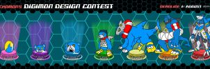 Digimon Design Contest - 2013 by RenLocks