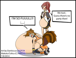 FA-Let's get fat and Party, Celica! by dantiscus