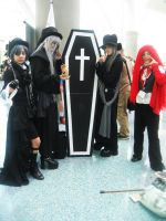 AX09: Ciel, Undertakers, Grell by Taymeho