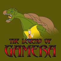 Kaiju Posters 4 of 4 - The Legend of Gamera by Daizua123