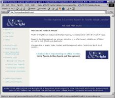 Martin and Wright Site by infodesh