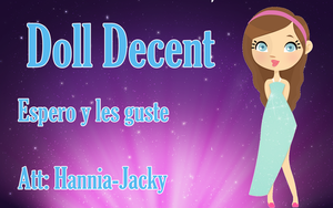 Doll Decent by Hannia-Jacky