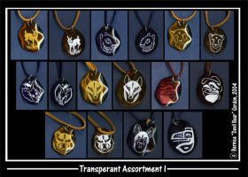 Transperant Assortment I by Gishkishenh