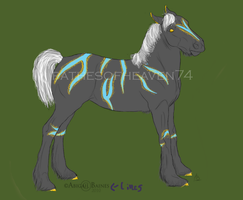 Fantasy Auction Horse-SOLD by patchesofheaven74