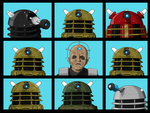 The Dalek Bunch by ShinGallon