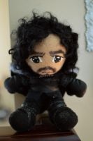 jon snow plush by niitsvee
