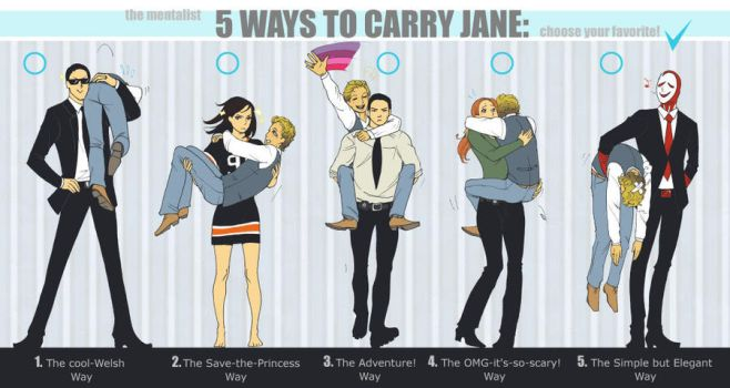 Mentalist Carry Jane by LadyDeadPooly