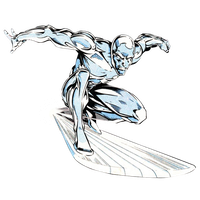 Silver Surfer render by JayC79