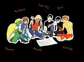 Young Justice by jk5059