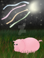 Piggy from the Midnight Moon by koorihimesama