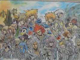 Kingdom Hearts II Final Mix by samui153