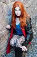 Amy Pond - ready for action by moonflower-lights