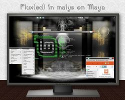 Flux(ed) With Malys on Maya by rvc-2011