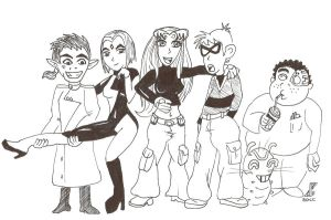 Teen Titans as Kim Possible by TeenTitans4Evr