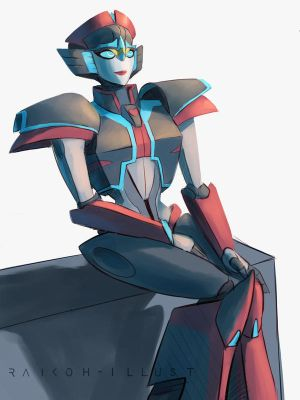Young Windblade by Raikoh-illust