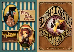 Darn Tootin' flyer by 47ness