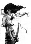 Afro Samurai by noadiction