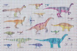 Late Cretaceous bestiary part4 by TomChaney