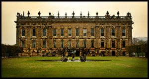 Chatsworth House Frontal by themoviejerk7