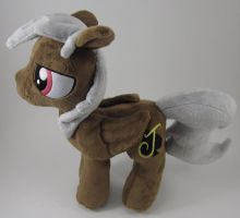 Chocolate OC Plushie by Brainbread