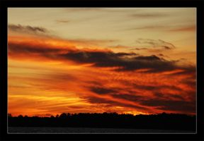 Sky Aflame by keriwgd