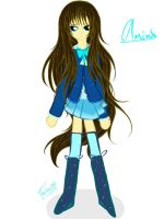 Amina another new clothes by AquaAngel1010