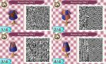 Animal Crossing QR Code: Ravenclaw Shirt by winxJenny