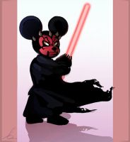 Darth Mouse by Art-Calavera