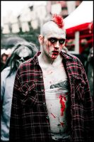 The Zombie Walk - 1 by particle-fountain