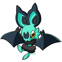 Shiney Noibat by rongs1234