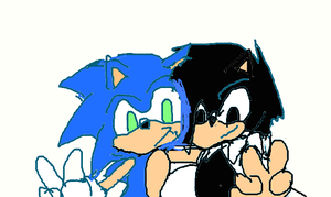 Sonic and Sly by Jelaniwatts1