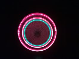 Neon lights by nuklar